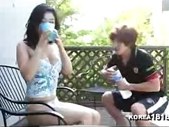 Bikini Korean Feels Interesting Exercise