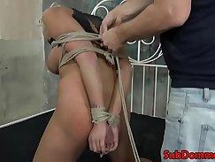 blonde with huge titties bdsm avec film