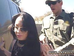 Blond Lady In Police uniform Missy willdo