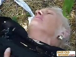 British granny fucked by nasty young dud
