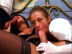 Big titted trans babe styles fucked hard by strainers dick