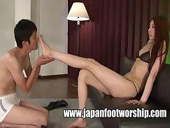 Amazing Japanese Camgirl Nandos In Foot Fetish